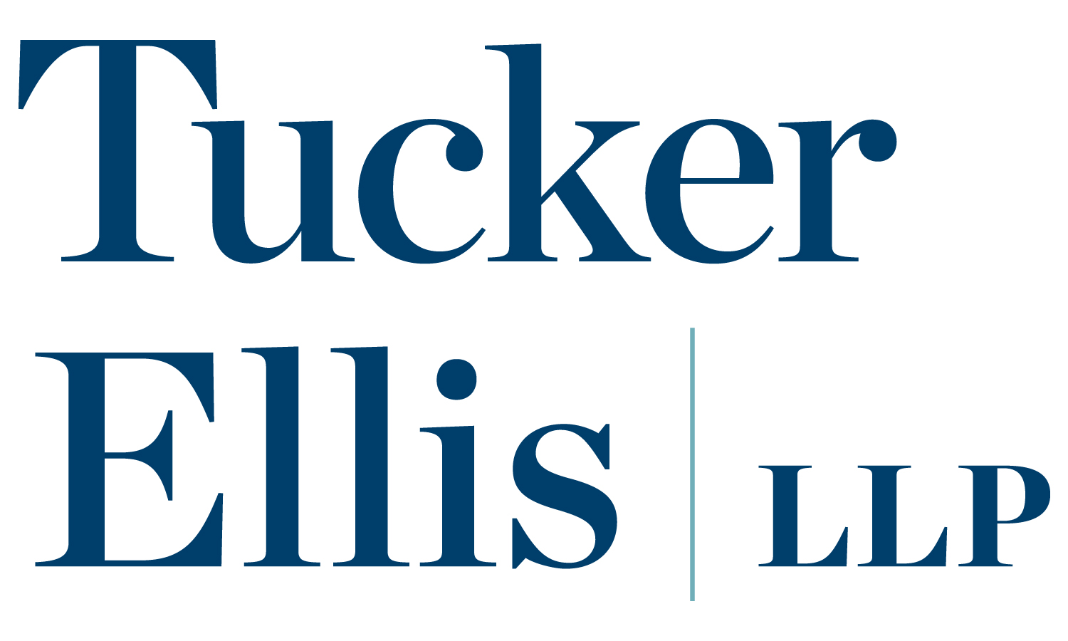 Tucker Ellis logo_Stacked_2-color